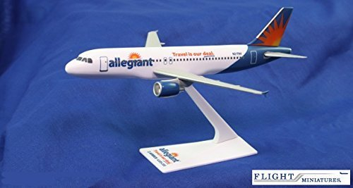 allegiant-air-airbus-a320-200-airplane-miniature-model-plastic-snap-fit-1200-part-aab-32020h-061-by-
