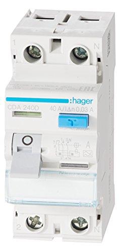 Hager-CDA240D-FI-Schalter-40A-30mA-A-Typ-2-polig