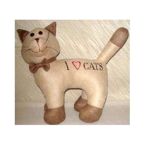 Preisvergleich Produktbild Türstopper CAT ICH LIEBE KATZEN