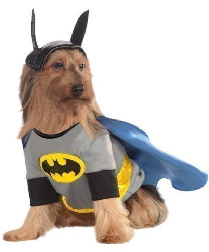 Animal Haustier Hund Katze Animal Batman Superheld Weihnachtsgeschenk Halloween Party Kostüm Kleid Kostüm Outfit - Medium (14-16
