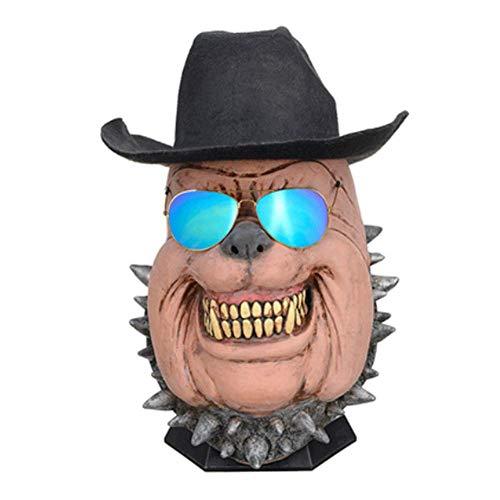 Club Der Tier Kostüm - LLU Halloween Party Party ordentlich COS Tier Maske Latex Maske