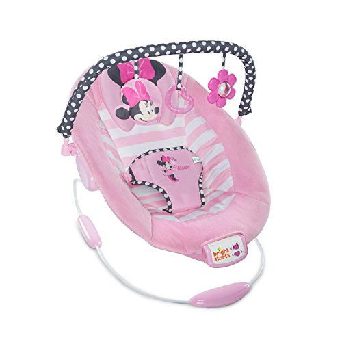 Disney Baby 10903 Minnie Mouse Blushing Bows Bouncer Wippe, rosa