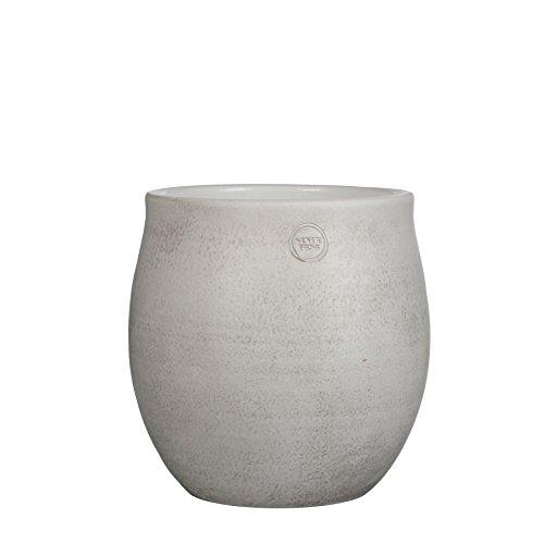 Mica Decorations 141853 Elsie Pot Ronde Blanc - H30xd29cm