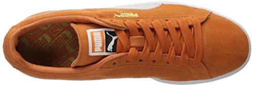 Puma Suede Classic+Water Wildleder Turnschuhe Burnt Orange/puma White