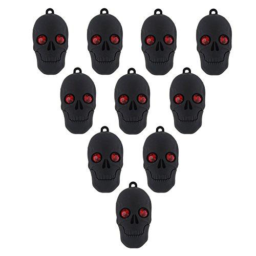 10 Stück Speicherstick USB 3.0 16GB Schrecklich Schädel Halloween-Geschenk Großhandel