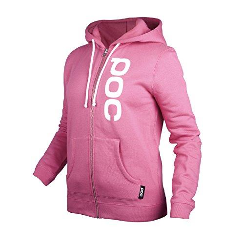 POC Hood Zip WO - Sudadera para mujer, color rosa, talla L