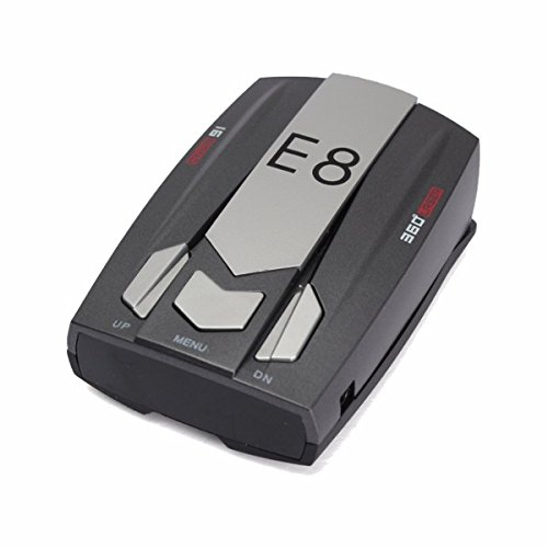 HITSAN Full Band Scanning Voice Anti-Police LED GPS E8 Radar Detector X K Ka Ct La One Piece