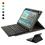 CoastaCloud kompatibel mit Tablet Samsung Galaxy Tabs mit Bluethooth Tastatur