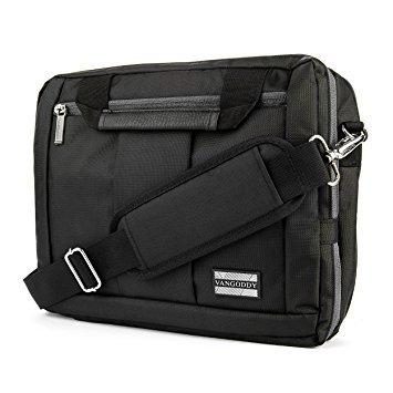 3in 1Messenger Bag & Rucksack für Microsoft Surface Buch 34,3cm Laptops schwarz schwarz 13.3 to 14 inch - Amd Windows-notebook-computer