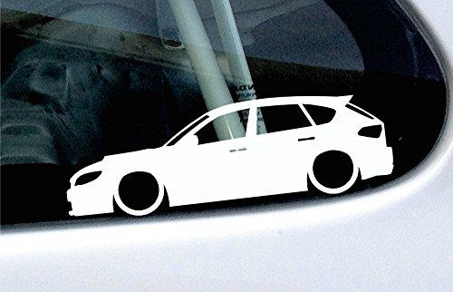 lowered-adhesivo-con-forma-de-coche-base-de-subaru-impreza-wrx-sti-hatchback-gh-2007-