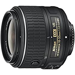 Nikon - 18-55 mm/F 3,5-5,6 AF-S DX NIKKOR G VR II Objectifs 18 mm (Reconditionné Certifié)