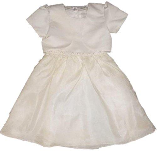 Dorissa festliches Kinder Mädchen Princess Kleid cremeweiß mit passender Bolero Jacke - Ralph Lauren-cover-set