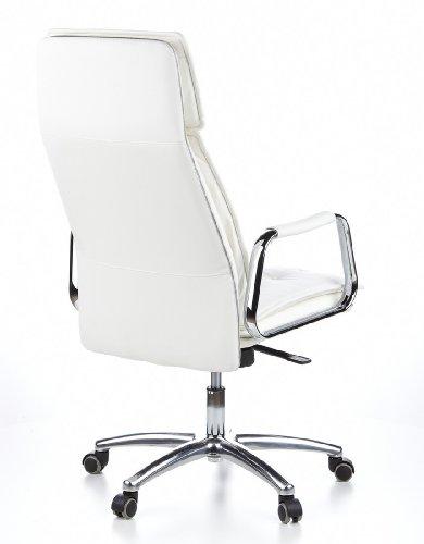 HJH OFFICE 600922 Bürostuhl / Chefsessel VILLA 20 Nappaleder elfenbein - 6
