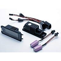 VINSTAR 2X Luces para MATRICULA LED Seat Leon 2 II MK2 CANBUS Lamp MATRICULA Targa