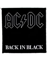 Patch AC/DC : Back In Black Sous Licence Officielle