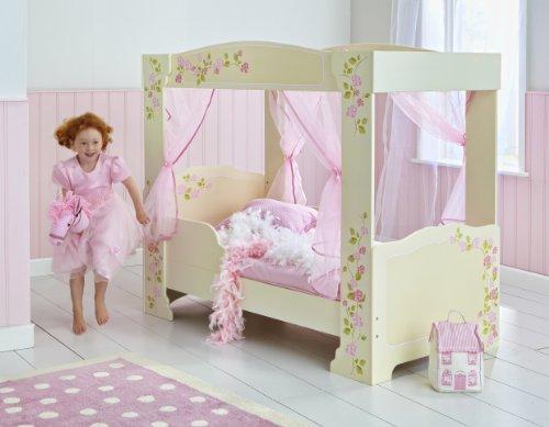 Himmelbett kinder  ᐅᐅ】🥇Himmelbett mit Rosenmotiv für Kleinkinder - Baby-und ...