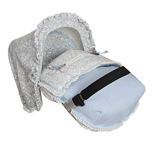 Imagen para Babyline Caramelo - Saco porta bebé, grupo 0, color azul