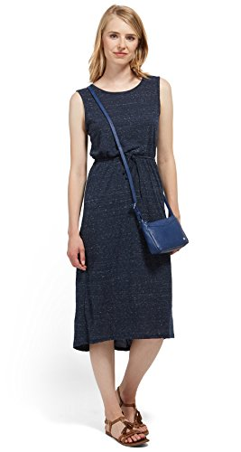 TOM TAILOR DENIM für Frauen Dress Midi-Kleid aus Jersey actual navy blue M