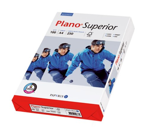 Papyrus 88026782 Multifunktionspapier PlanoSuperior 100 g/m², A4 250 Blatt weiß