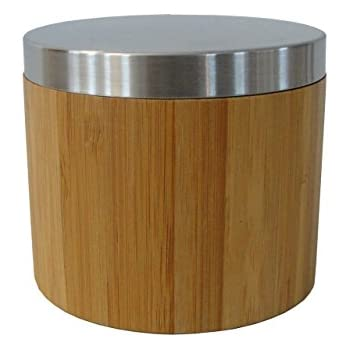 edle braune wattedose wattepadspender wattest bchen. Black Bedroom Furniture Sets. Home Design Ideas