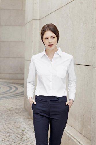 Fruit of the Loom Damen Hemd White