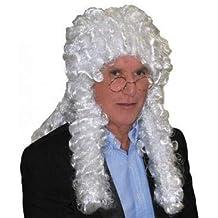 Juez Blanco Peluca Lote/Conjunto de 6 Piezas -