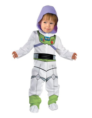 Lightyear Buzz Kostüm Für Schuhe (Toy Story Kostüm, Kinder Buzz Lightyear Newborn/Infant Kostüm, Infant, 12–18Monate, Höhe)