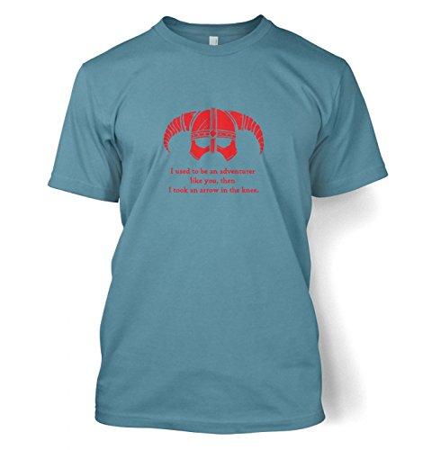 Gaming Tshirts By Big Mouth - Camiseta - camisa - para hombre Azul azul Medium