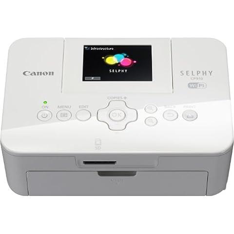Canon SELPHY CP910 - Impresora fotográfica WiFi, blanco
