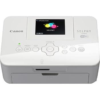 Canon SELPHY CP910 Stampante Fotografica Compatta, 300x300 dpi, Bianco