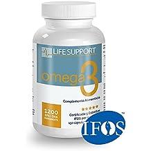Omega 3 LS (150 cápsulas de 1000 mg) Certificado IFOS. Forma Ethyl Ester