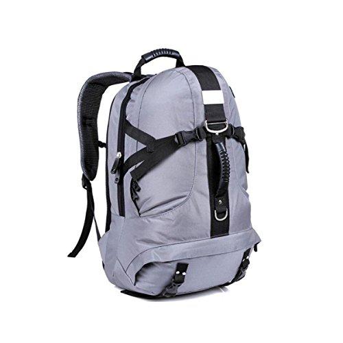 Outdoor-Bergsteigen Taschen Große Taschen Reisen Rucksack Sporttasche Gray