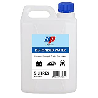AP Automotive De-Ionised Water Battery & Iron Top Distilled Aquariums Car Engine