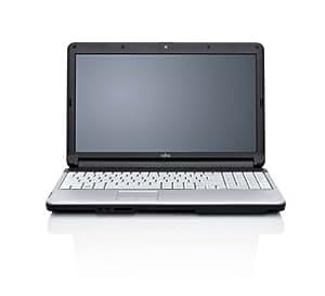 "Fujitsu Siemens Lifebook A530 Ordinateur portable 15,6"" Intel Core i3-380 500 Go RAM 4096 Mo Windows 7 Noir Mat/Argent"
