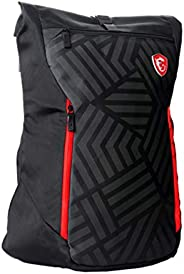 MSI MSI Mystic Knight Gaming Laptop Backpack, Quick Access, Padded Mesh, Lightweight Polyester Exterior, Fits