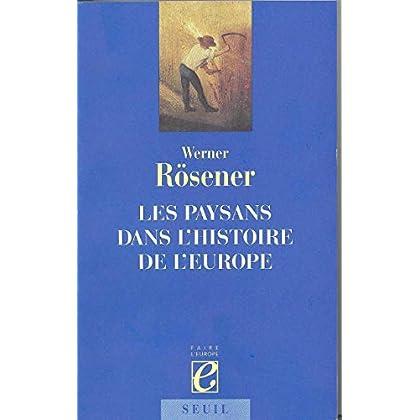 Les Paysans dans l'histoire de l'Europe