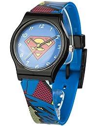 Superman SUP4DC - Reloj unisex, correa de plástico multicolor