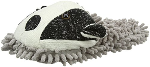 Aroma Home ShoesFUZZY FRIENDS BADGER - Pantofole donna Grigio (Grey)