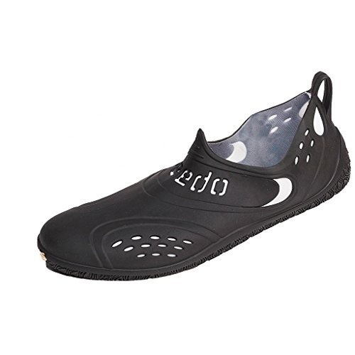 Speedo Zanpa AF Ciabatte Donna, Black/White, 42