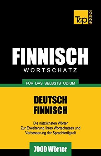 Finnischer Wortschatz für das Selbststudium - 7000 Wörter