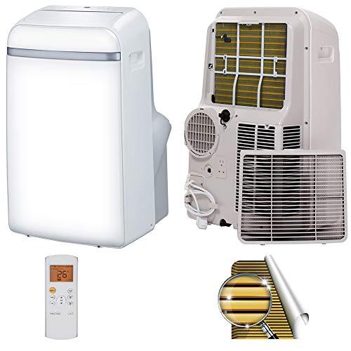 Mobile Klimaanlage 3in1 Kühlen/Entfeuchten/Ventilieren 17~35°C Lokales Klimagerät mit Golden-Fin Wärmetauscher SMND-PAC-12 12000 btu 3,5kW