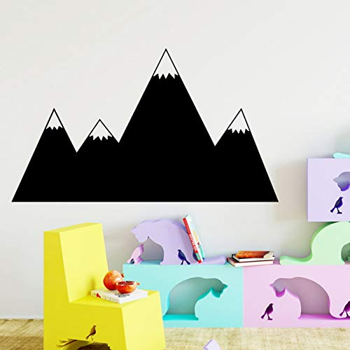TYLPK Dibujos animados montaña pared arte pegatina