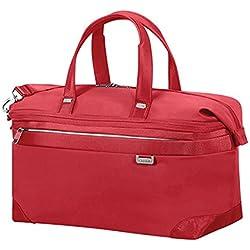 Samsonite Uplite Duffle 45 cm Exp Bolsa de Viaje, 42.5 litros, Color Rojo