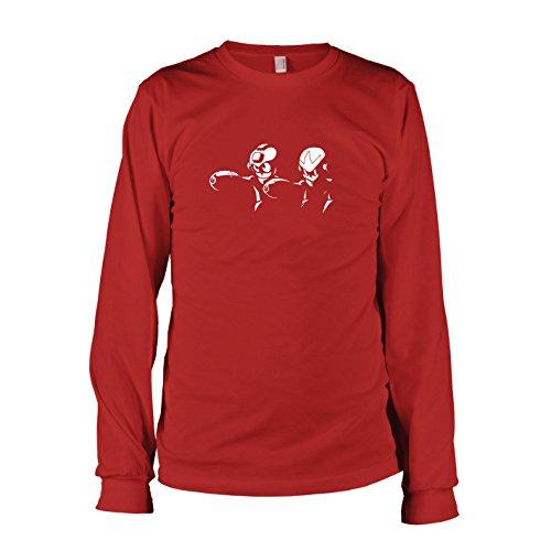 TEXLAB - Mega Fiction - Langarm T-Shirt, Herren, Größe L, ()