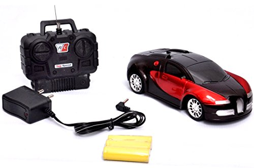Toyshine Bugatti Remote Control Racing Car, 1:20 Scale, 4 Function,...