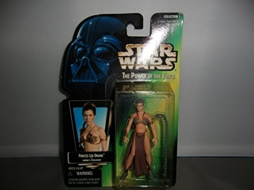 (Star Wars Basic Figure Princess Leia ( Leia in slave girl ) STARWARS The Power Of The Force by