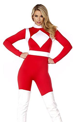 ges rotes Ranger Kostüm ()