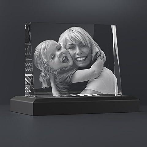 Personello® ☆ Fotogeschenke vom Glasfoto Spezialisten ☆ Glaskristall mit Ihrem