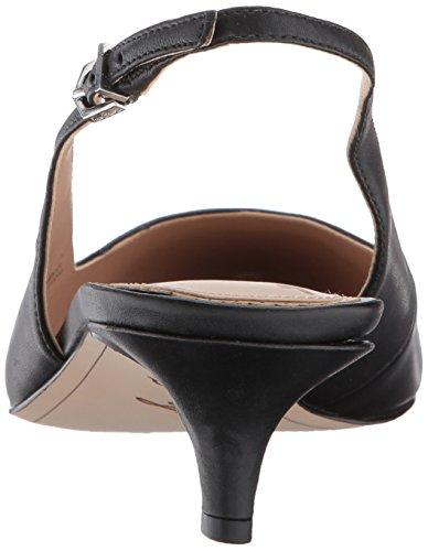 Sam Edelman Damen Ludlow Slingback Pumps Schwarz (Black Leather)