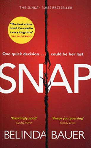 Snap: The Sunday Times Bestseller Stoff-snap